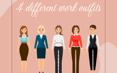 Four Different Work Outfits For A Female Entrepreneur
